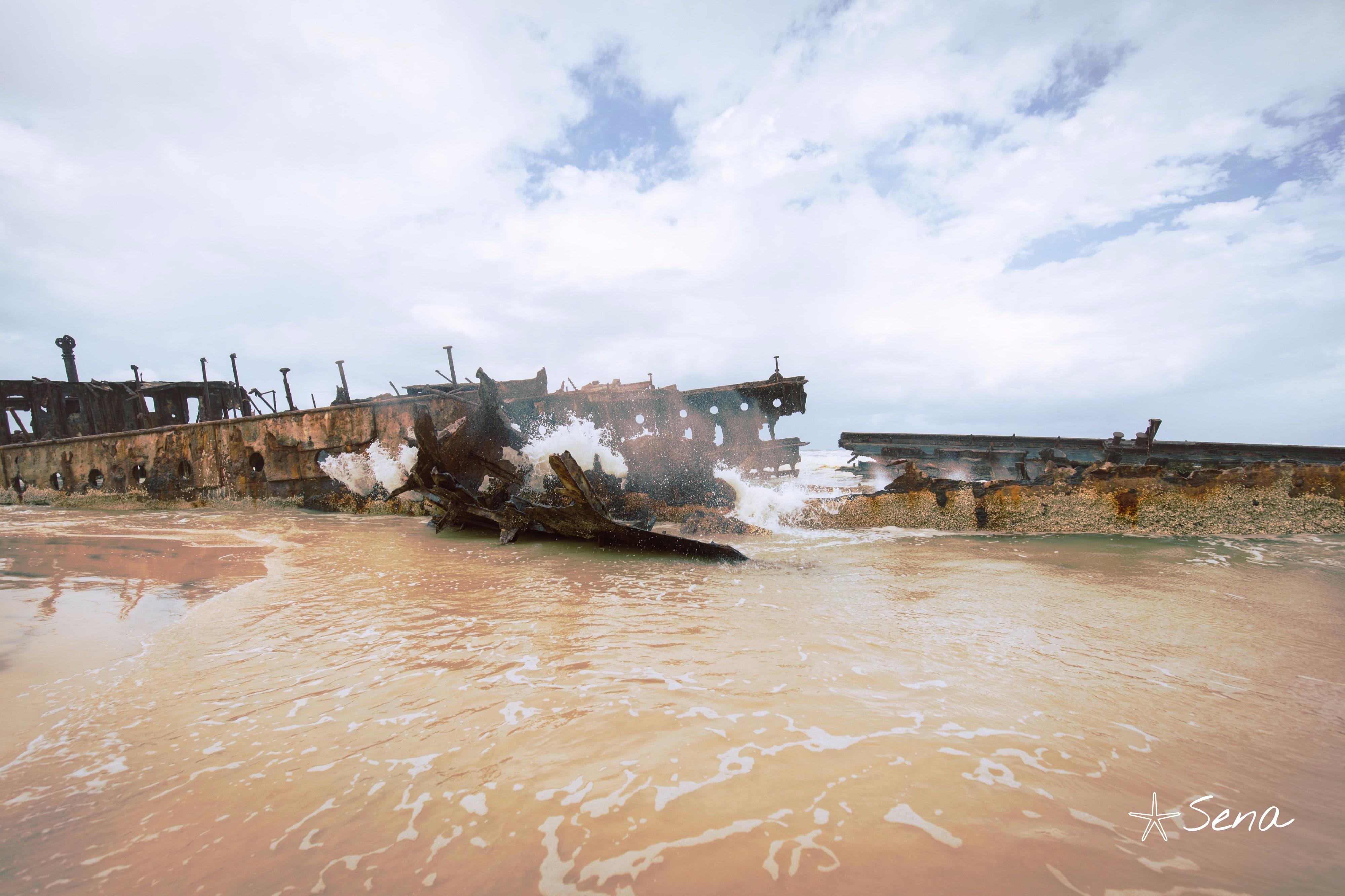 難破船マヒノ号 Maheno Wreckship