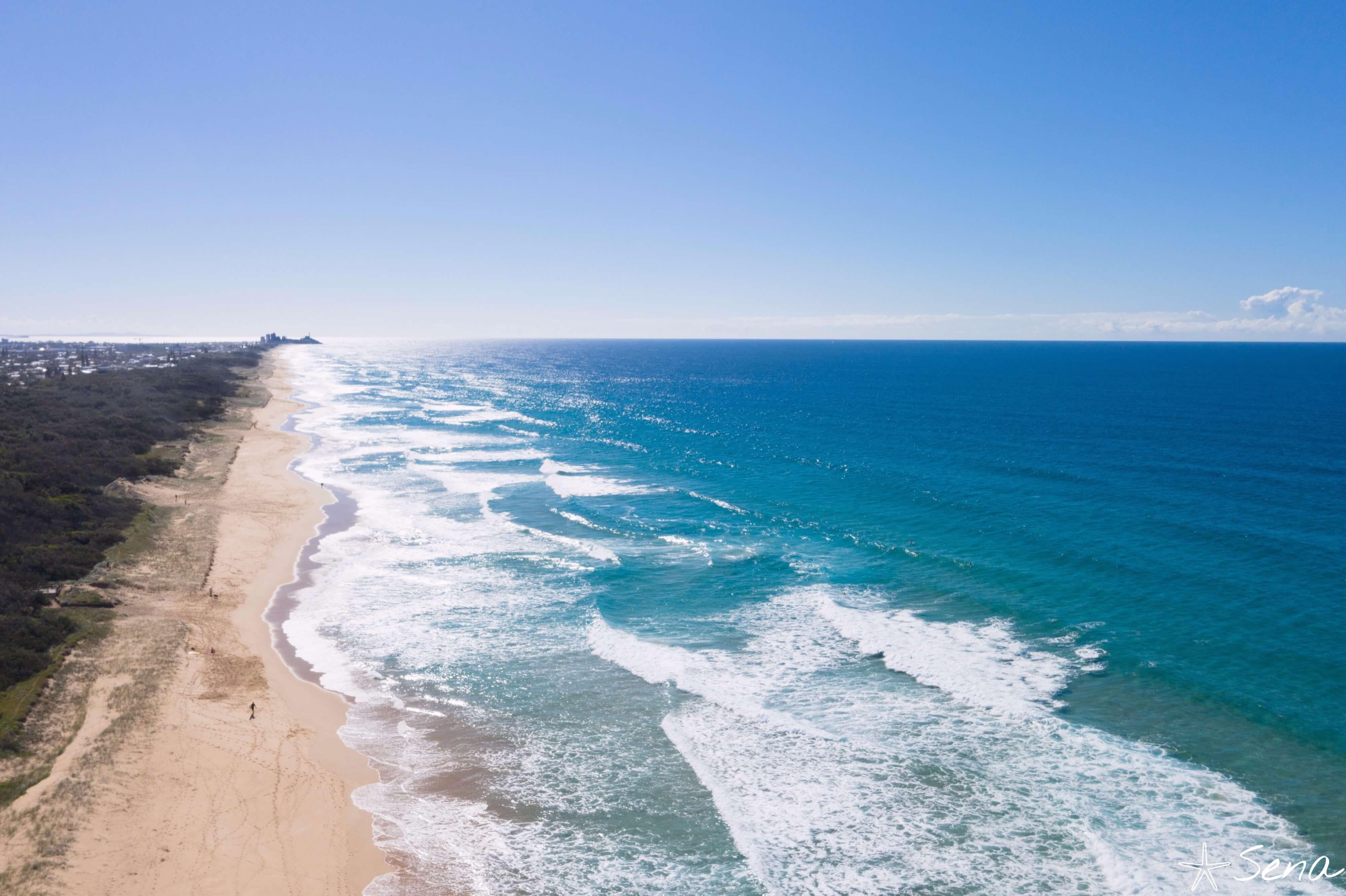 オーストラリア ワラナ ビーチ