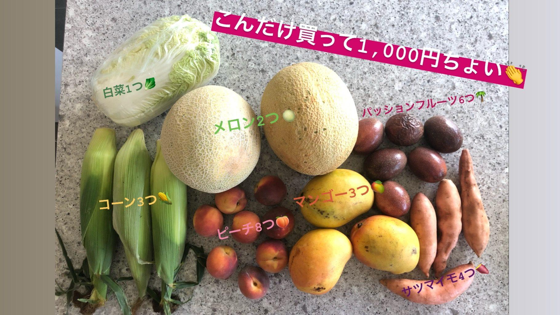 オーストラリア 野菜、果物