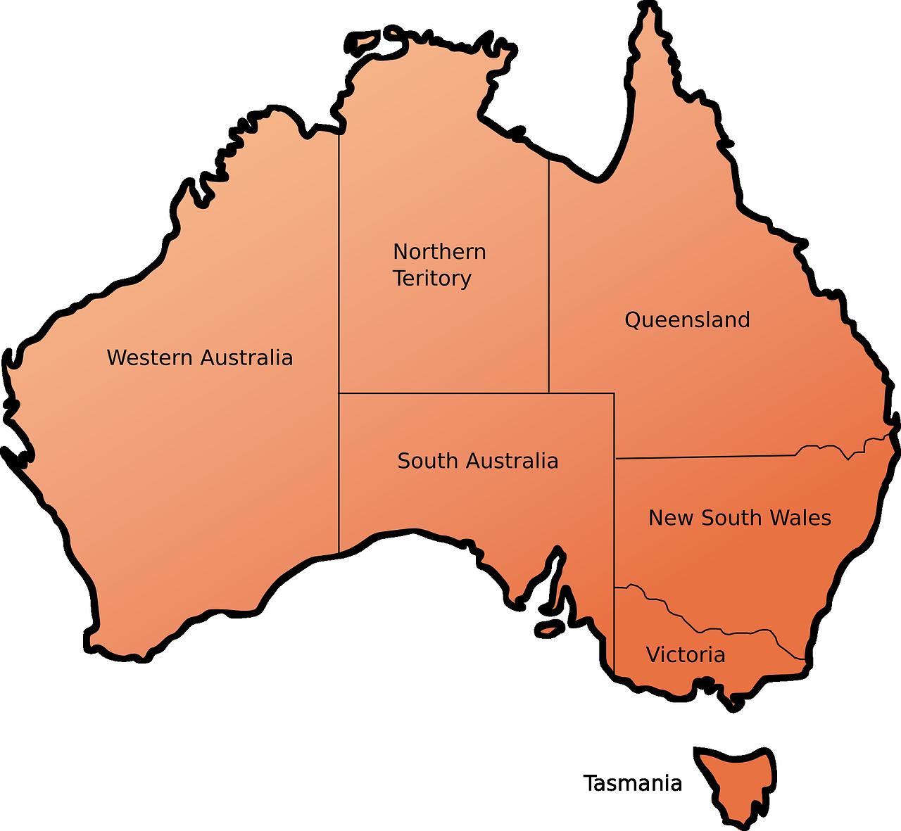 オーストラリア 州