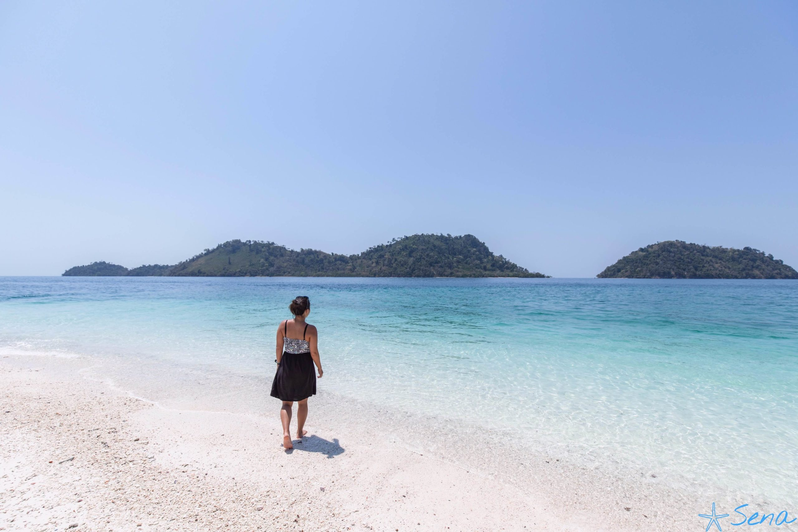 カイ島 ビーチ