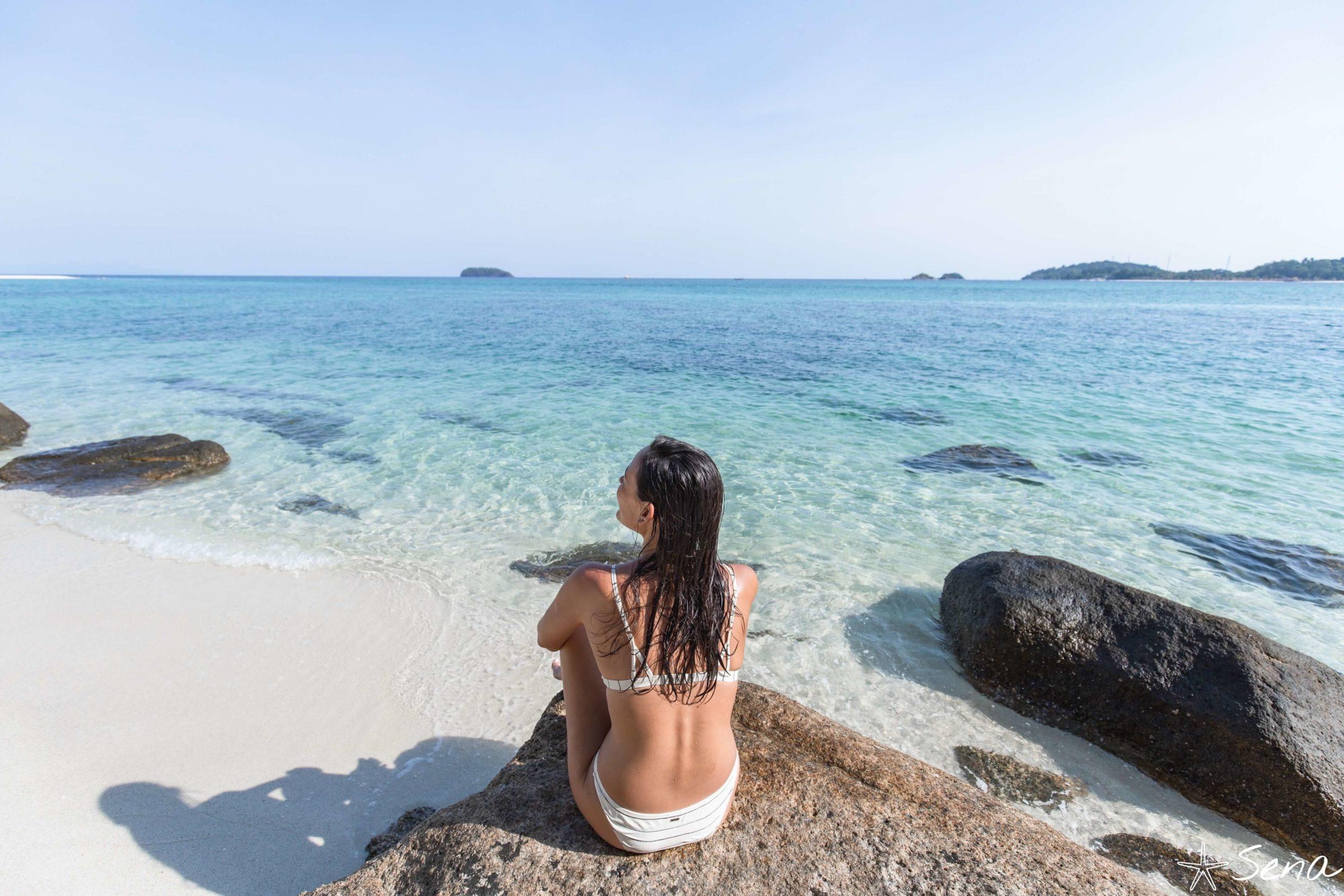 アダン島 南側ビーチ